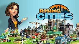 Rising Cities - darmowa gra - Zarz�dzaj miastem, by poprowadzi� je ku �wietlanej przysz�o�ci