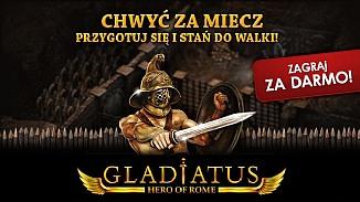 Gladiatus - darmowa gra - Walcz o wolno�� na staro�ytnych arenach!