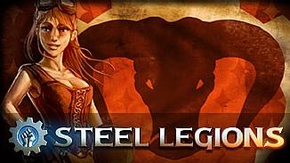 Steel Legions - darmowa gra - Ulepszaj sw�j czo�g i niszcz maszyny nieprzyjaci�!