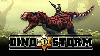 Dino Storm - darmowa gra - Darmowa gra online - kowboje, dinozaury, lasery. Sprawd�!